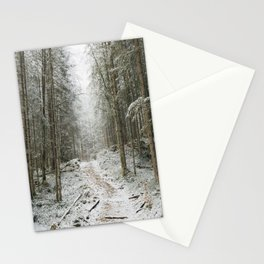 For now I am Winter - Landscape photography Stationery Cards