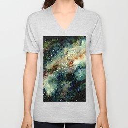 Cosmic Splendor Unisex V-Neck