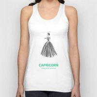capricorn Tank Tops featuring Capricorn by Cansu Girgin
