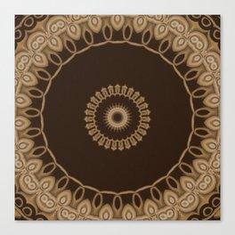 Sequential Baseline Mandala 25 Canvas Print