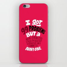 SuperPAC Problems iPhone & iPod Skin