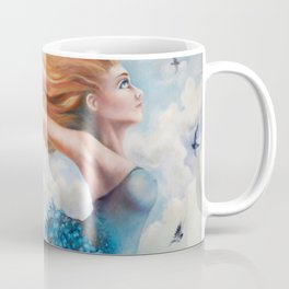Zephyr, She Flies With Her Own Wings Coffee Mug