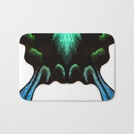Green Swallowtail Butterfly Bath Mat