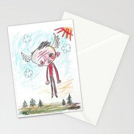 Light Headed Stationery Cards