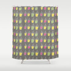 shake it  oh baby now.. Shower Curtain