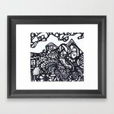Mountain of Dreams Framed Art Print
