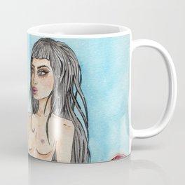 Jellyfish Mermaid Coffee Mug