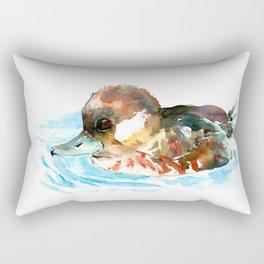 Duck, Bufflehead Duck baby Wild Duck Rectangular Pillow