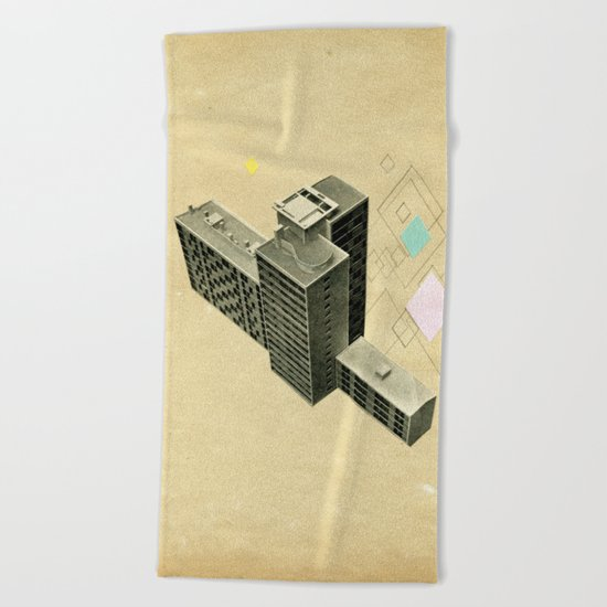 The Modern World Beach Towel