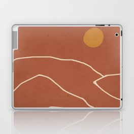 Minimal Abstract Art Landscape 2 Laptop & iPad Skin