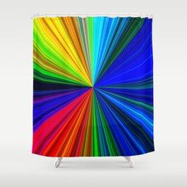 Colours of a Rainbow Shower Curtain