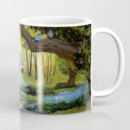 Enchanted Forest Cottage Coffee Mug