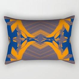femmes assises Rectangular Pillow