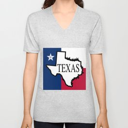 State of Teaxs Unisex V-Neck