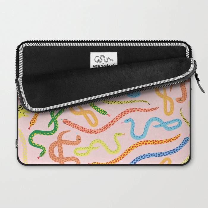 Snakes and Frogs Laptop Sleeve