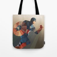 captain Tote Bags featuring Captain by Ed Burczyk
