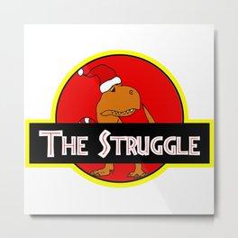 The Struggle Park (Merry Christmas) Metal Print