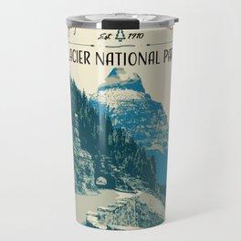 Glacier National Park - Going to the Sun Road Travel Mug