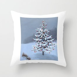 Christmas Eve 2015 Throw Pillow
