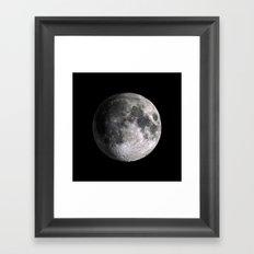 The Full Moon Super Detailed Print Framed Art Print