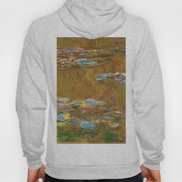 "Claude Monet ""The Water Lily Pond"", c.1917-19 Hoody"