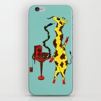 dance iPhone & iPod Skins featuring Dance by Anna Shell