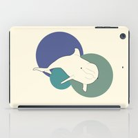 dolphin iPad Cases featuring Dolphin by Rebekhaart