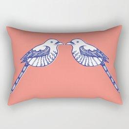Turtle doves Rectangular Pillow