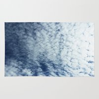 neverland Area & Throw Rugs featuring Neverland Clouds by GIZIBE