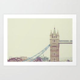 Tower Bridge In All Its Glory, London Photograph Art Print