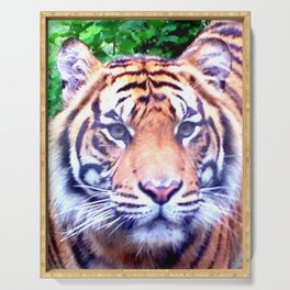 Tiger Tiger Burning Bright Serving Tray