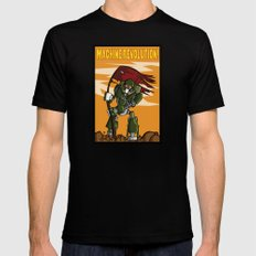 Machine Revolution Mens Fitted Tee Black MEDIUM