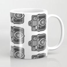 I Still Shoot Film Holga Logo - Black and White Mug