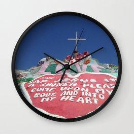 Salvation Mountain II Wall Clock