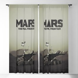 Mars, the final frontier Blackout Curtain