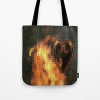 gem Tote Bags featuring Gem by Maria Julia Bastias