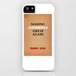 Trump Makings 7. iPhone Case
