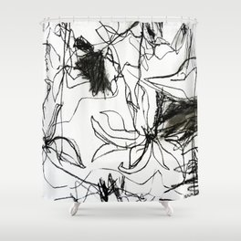 abstrakt 28 Shower Curtain