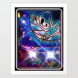 """Alien Blastoff"" Art Print"