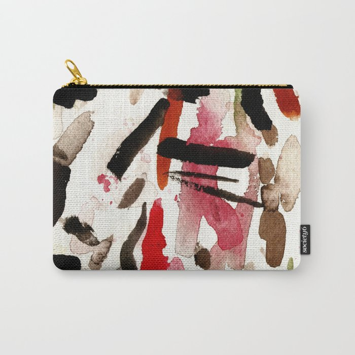 BLACK INVADERS Carry-All Pouch