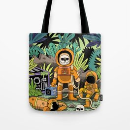 Lost contact Tote Bag