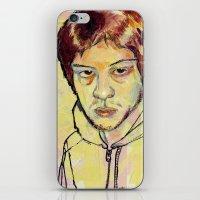 danny ivan iPhone & iPod Skins featuring Ivan by dvhstudios
