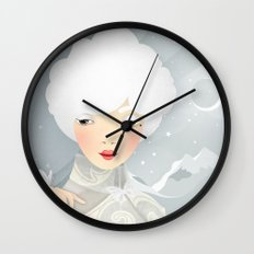 The Wings of the Dove Wall Clock