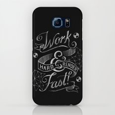 Work Hard & Render Fast! Galaxy S7 Slim Case