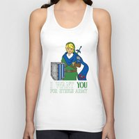 hyrule Tank Tops featuring Hyrule Recruitment by PeterParkerPA