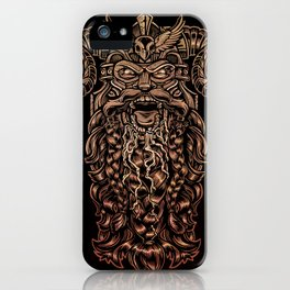 Viking Rabies iPhone Case