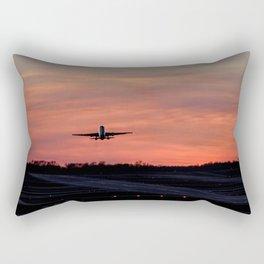 Sunset take off Rectangular Pillow