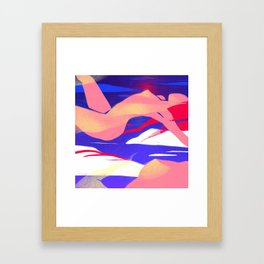 Women Ascending Framed Art Print