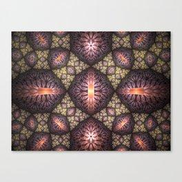 Fractal Art Pattern Canvas Print