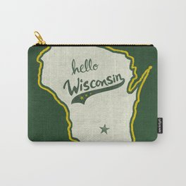 Hello Wisconsin Carry-All Pouch